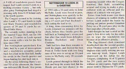 Leeds cougars